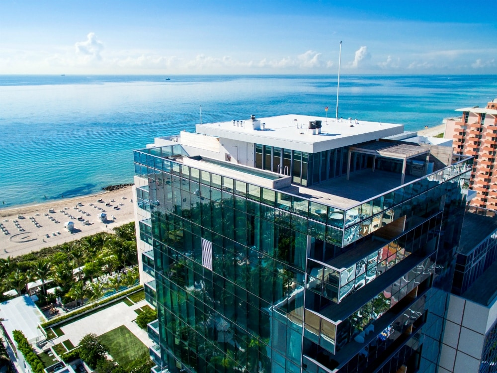 Miami Homes With Stunning Balconies Rooftops And Elevated Patios on 321 Ocean Drive Miami Beach