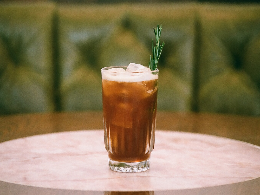 All Day Rosemary Coldbrew Limeade