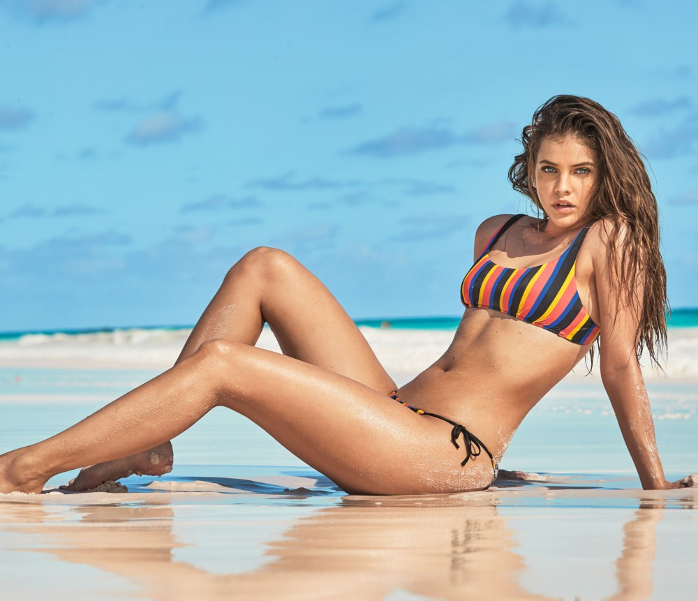 Barbara Palvin On Summer Beach Essentials & Starring in Calzedonia's New Swim Campaign