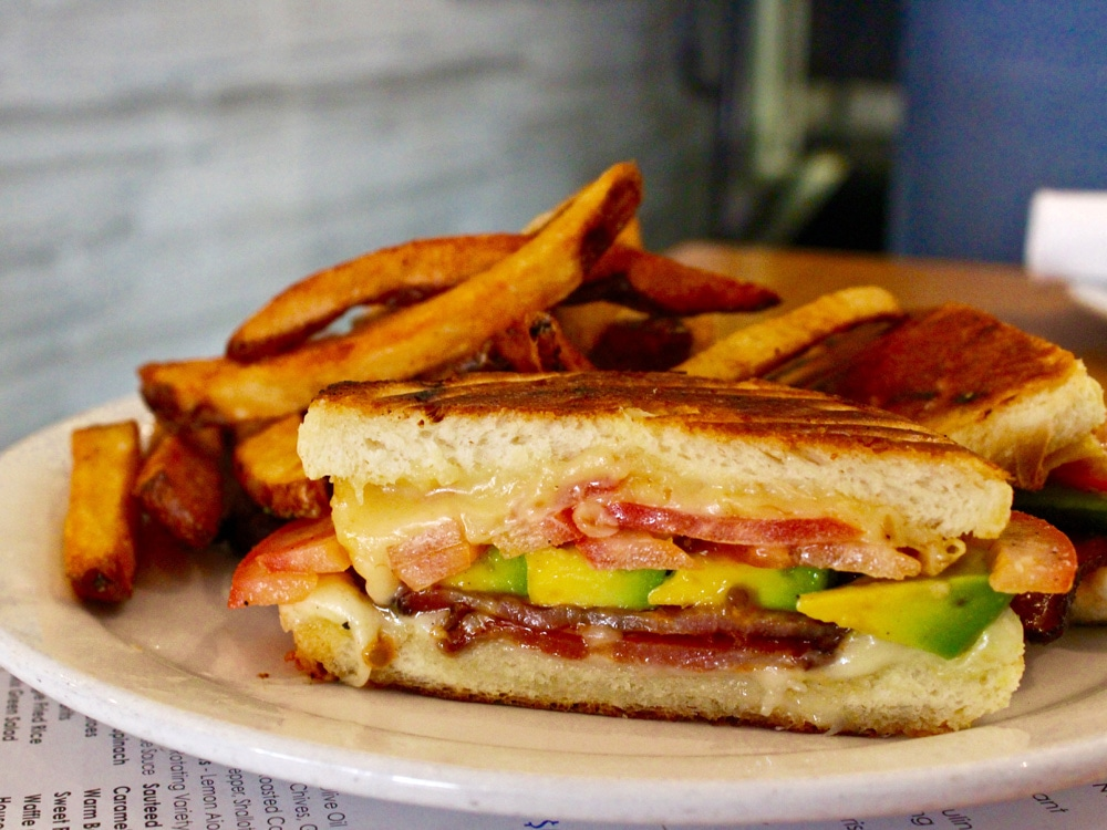 Blue Collar The Grilled Cheese Deluxe