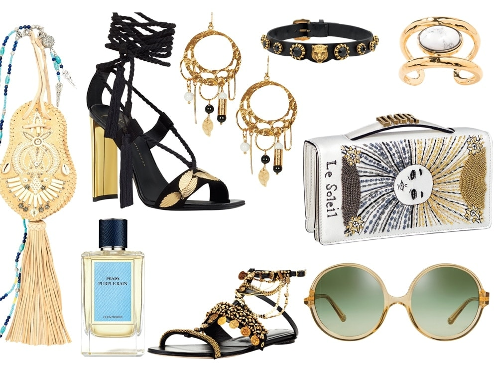 Gilded Bohemian Fashion Accessories to Prepare for Spring