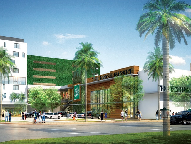 CityPlace Doral will feature the city's only Fresh Market.