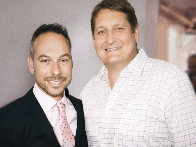 With Tony Cho at Night of the Monarchs hosted by Metro 1 Properties and Ocean Drive magazine.