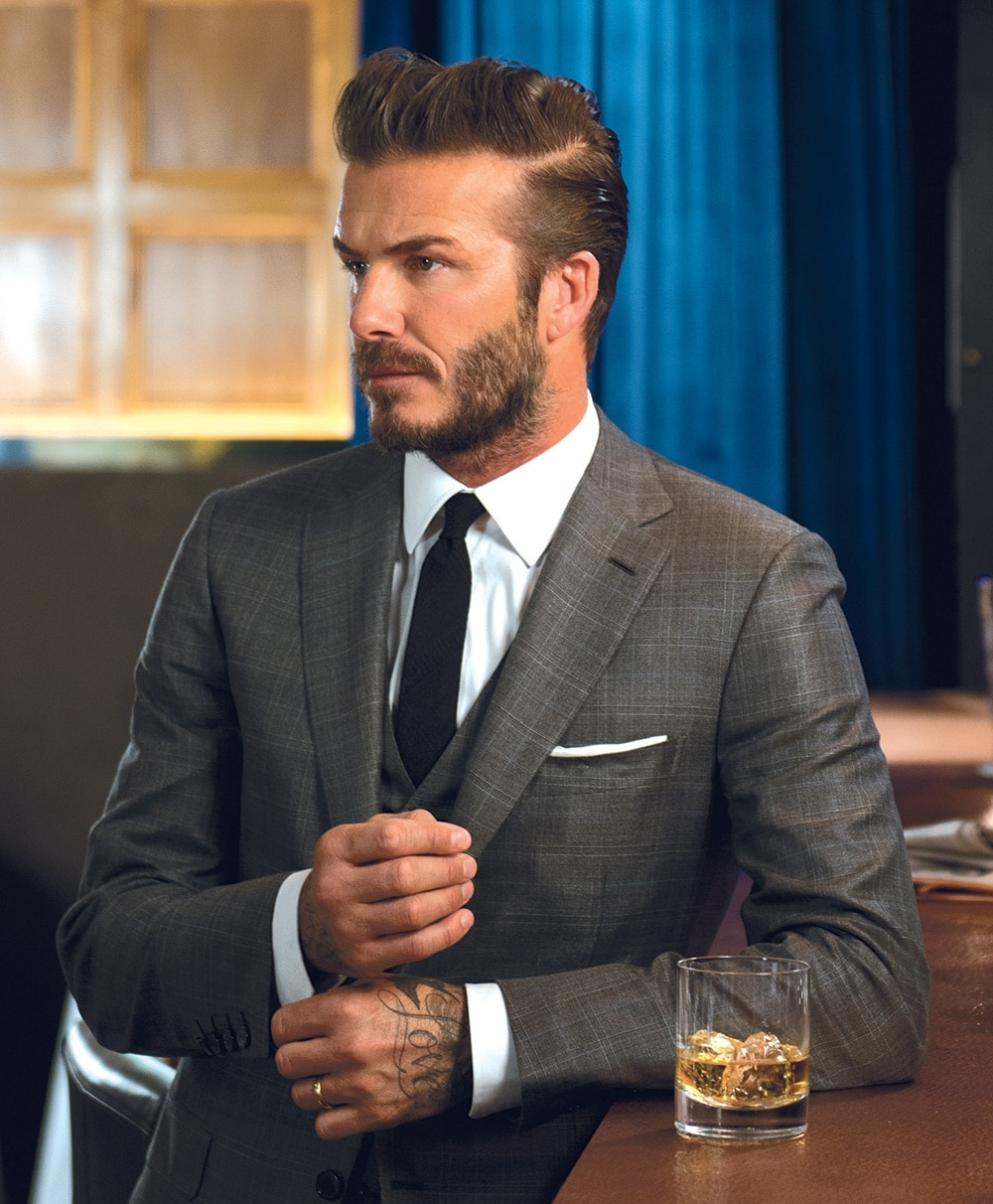 David beckham on fame and haig club single grain scotch - David beckham ...