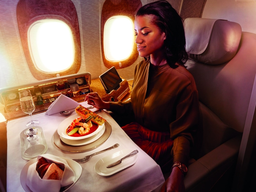 Sponsored Post: Emirates' In-Flight Culinary Offerings Will Make Your Mouth Water
