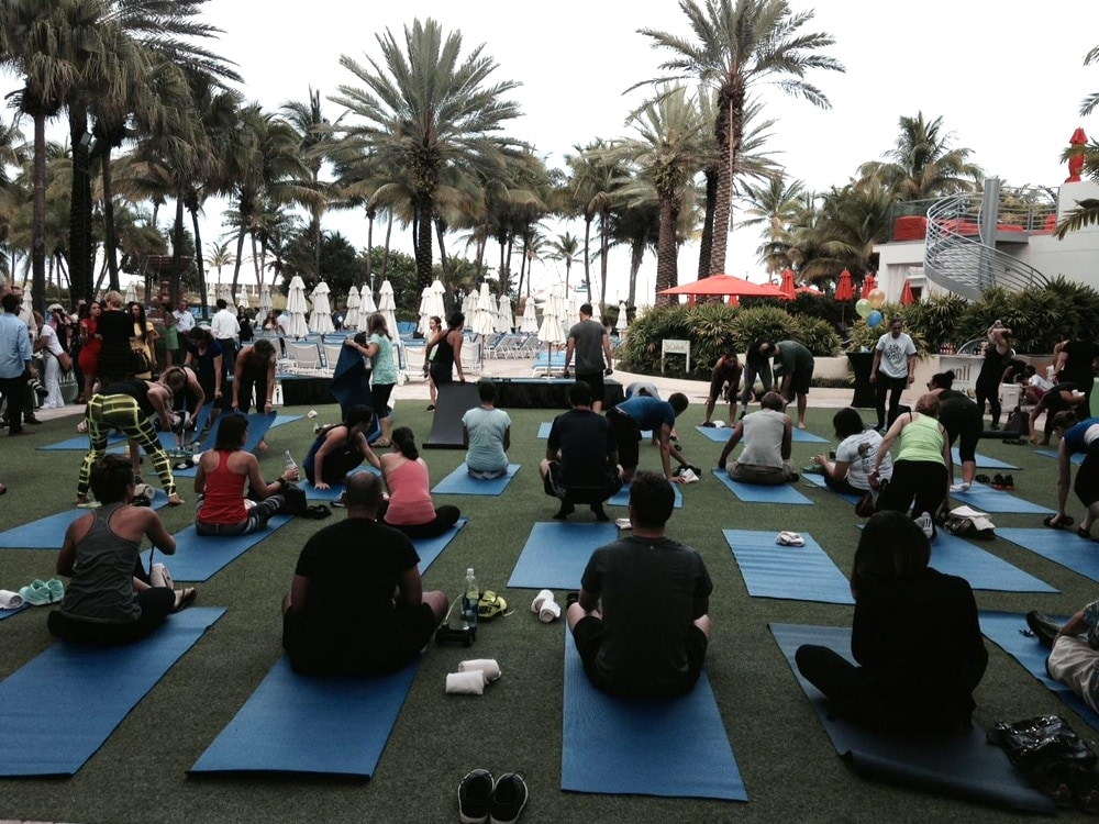 Exhale Spa Miami Yoga