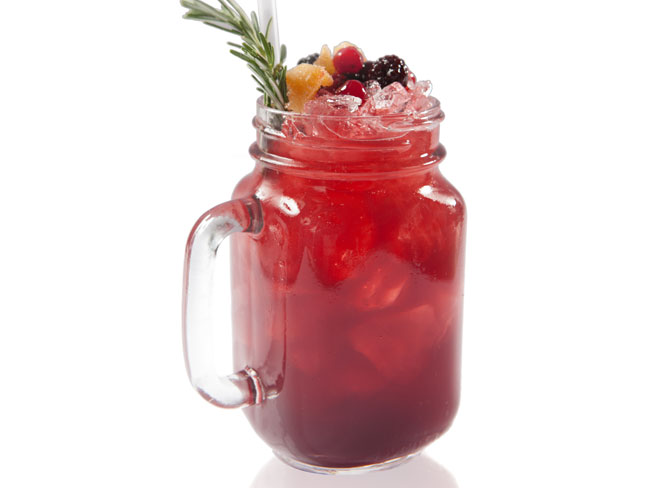 Gingery Berry Smash