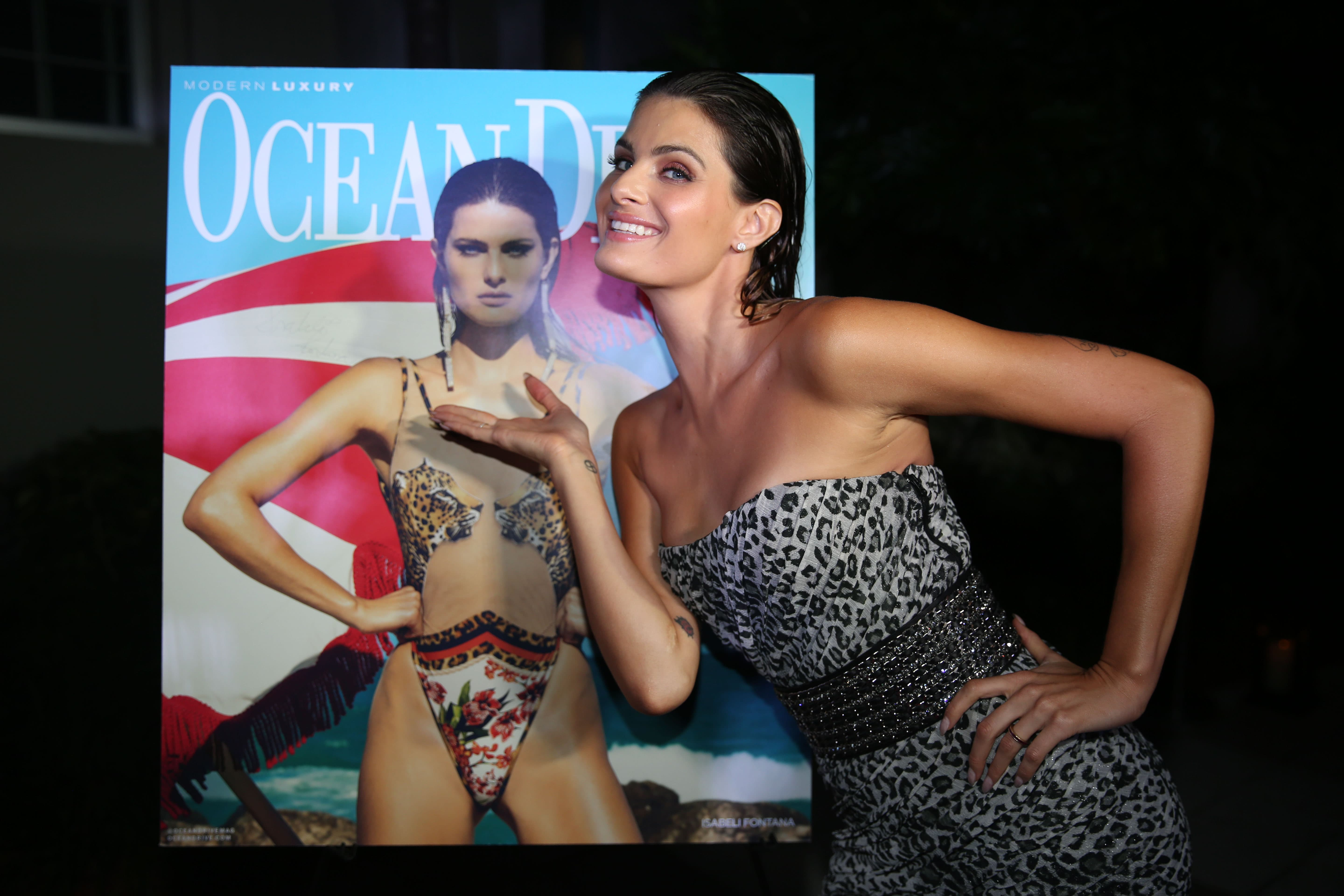 91547618dfb Isabeli Fontana's Issue Release Party