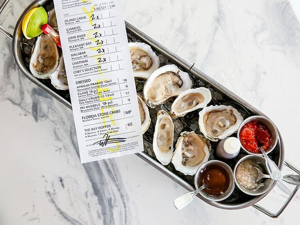 Where to eat oysters ros wine in miami for Izzys fish and oyster