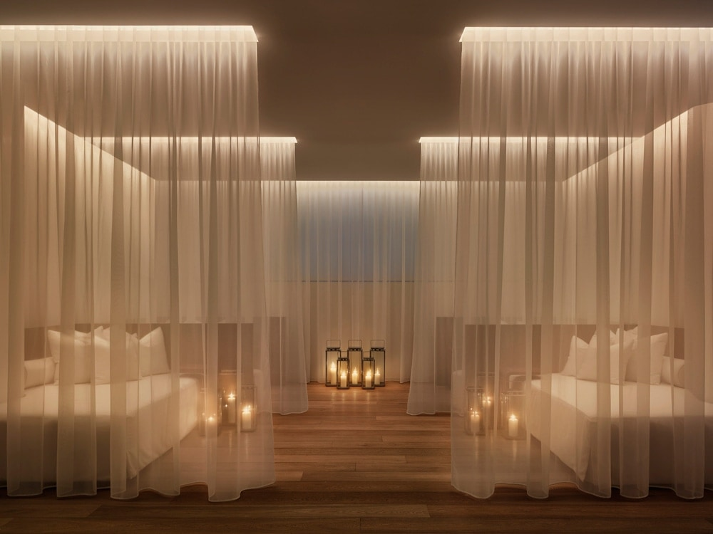 What are the best spas to recharge at after art basel for Element decoration salon