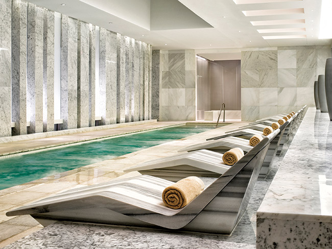 Lapis spa at the Fontainebleau Miami Beach.