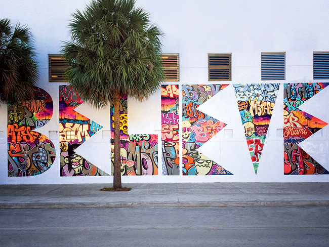The amazing street art that 39 s helping one miami school - Wall arts images ...