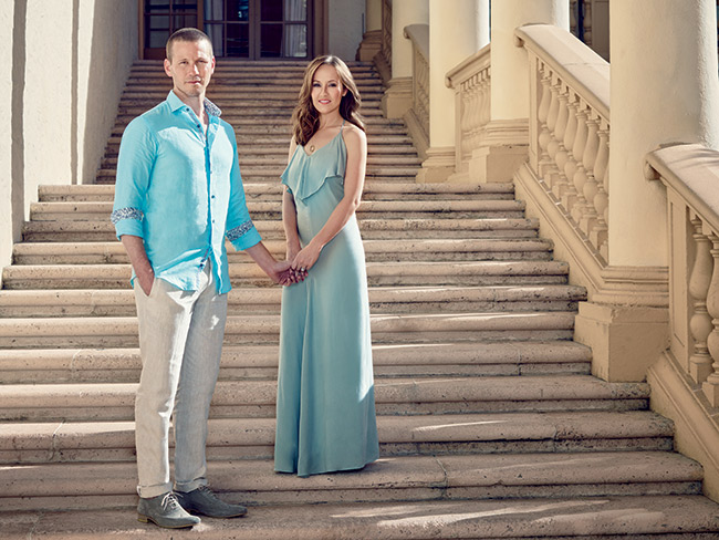 "<strong>THE PERFECT MATCH: J.P. Rosenbaum & Ashley Hebert </strong><br> It was a televised match made in heaven for J.P. Rosenbaum and Ashley Hebert, who fell in love on Season 7 of The Bachelorette. Once the honeymoon was over, though, it was time to get down to business, and they both decided Miami was the place to make it happen. The couple was living in Princeton, New Jersey, with Hebert commuting to Philadelphia to finish her dental residency and Rosenbaum traveling to New York to work for Greystone & Co. property development. Last year, Rosenbaum's company was looking for someone to run its properties in South Florida, so the couple made a move. ""Miami is the perfect fit for us,"" says Hebert, who is opening her own pediatricdental practice. ""Miami is a great place to start a business. All the areas are developing. We're excited to be here and be a part of it."" The move could have been temporary, ending when Rosenbaum's job as development director for The Mile in Coral Gables and 2500 Biscayne Boulevard in Edgewater was complete. But after living in Brickell for a year and welcoming their first child, Fordham Rhys, last September, it seems that Miami is getting the final rose. ""We've grown to love it,"" says Rosenbaum. ""Once Ashley decided to open her practice, we knew there was no turning back. We're definitely here to stay."""
