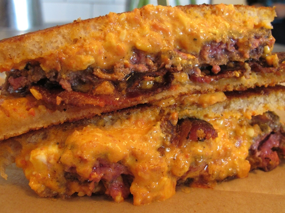Patty Melt Ms. Cheezious