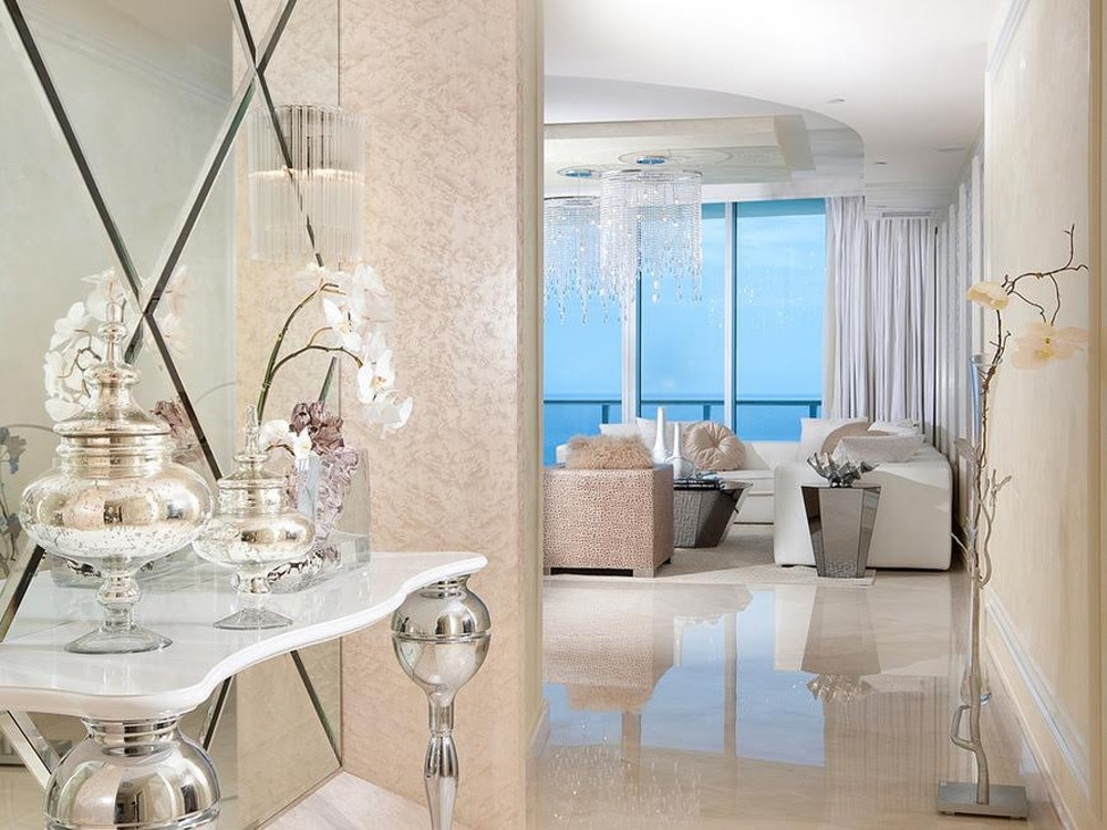 This High-Fashion, High-Rise Penthouse Makes Sunny Isles Sparkle