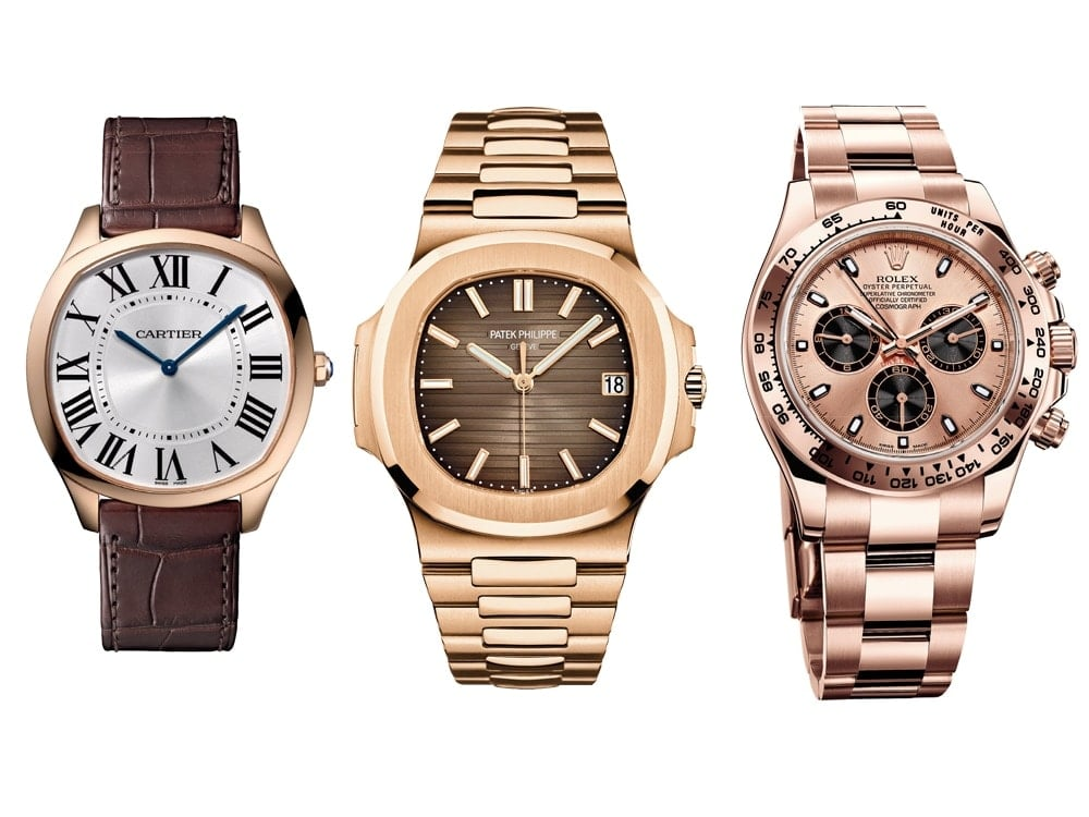 watches women s kensington and rose premium en gold all nixon us accessories