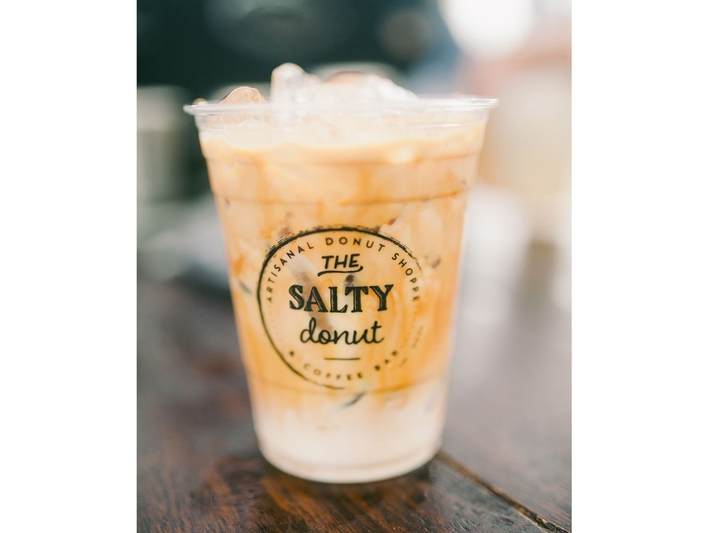 The Salty Donut Cereal Milk Latte