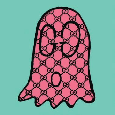 """Gucci Ghost Aqua Pink"" GUCCI GHOST ART PHOTO BY TREVOR ANDREW"