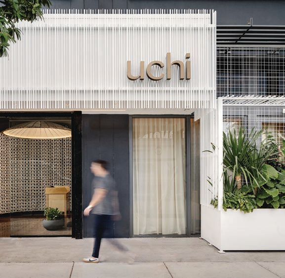 Uchi is located in the heart of Wynwood.  PHOTO COURTESY OF UCHI