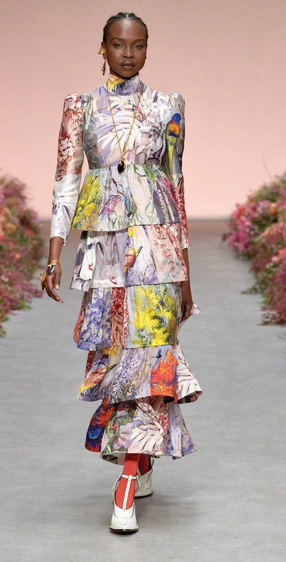 Pieces from Zimmermann's spring 2021 Wild Botanicals collection PHOTO COURTESY OF ZIMMERMANN