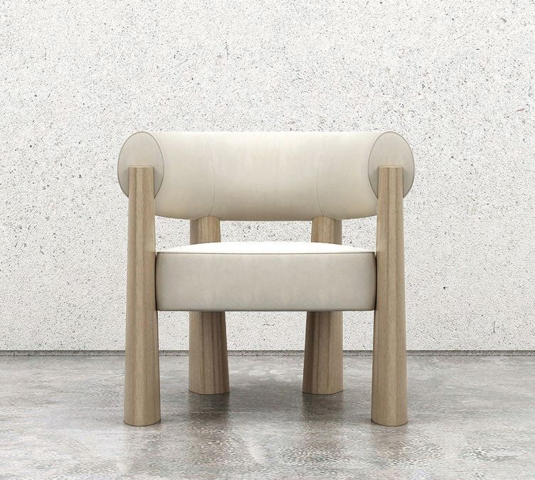 Achille armchair, designed by Maxime Boutillier, numbered edition, $6,425. PHOTO COURTESY OF STUDIOTWENTYSEVEN