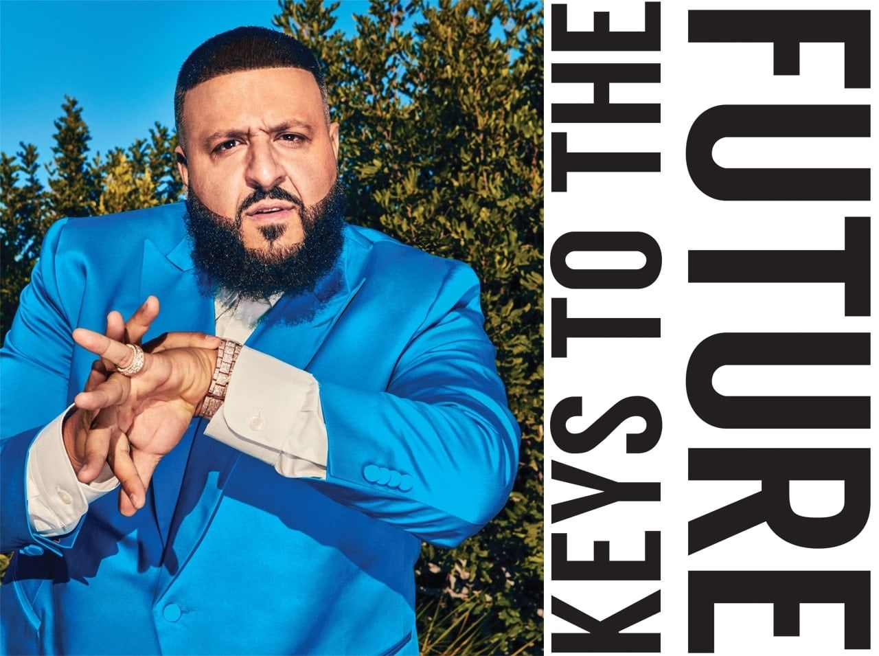 56a6f3d85e8a76 DJ Khaled Reflects on His Early Start in the Music Business and the  Importance of Staying Positive