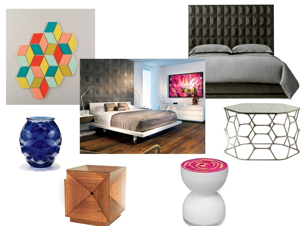 Britto and david charette on how to achieve the cubism for Home decoration pieces