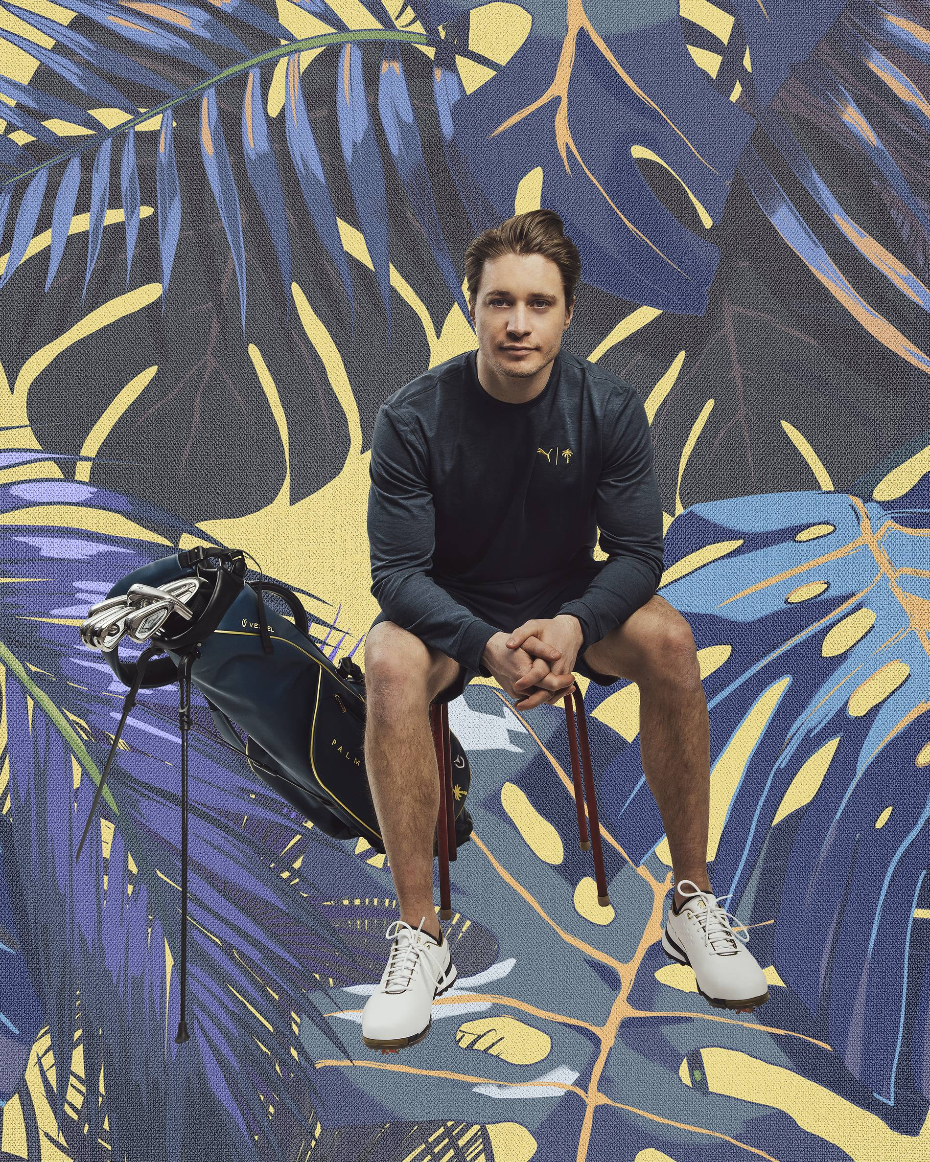 Kygo models the Puma x Palm Tree Crew collection