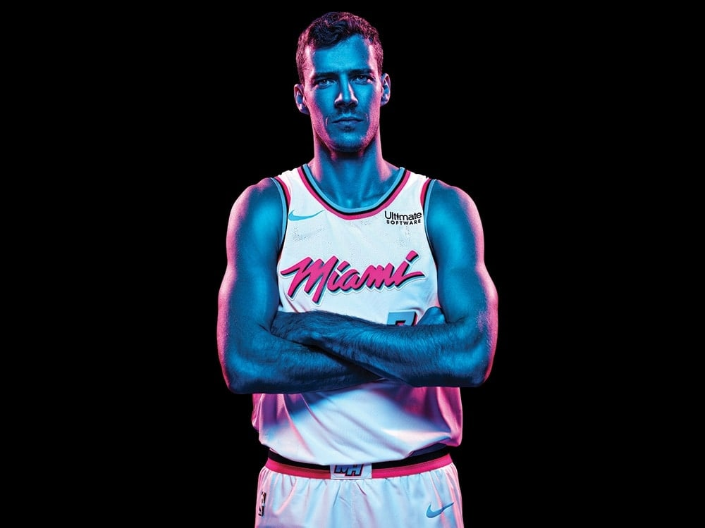 promo code de93a b49fe See The Miami Heats' Throwback Uniforms