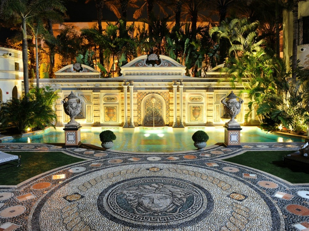 From 24k Gold Plated Toilets to Secret Passageways, the Versace Mansion Continues to Awe