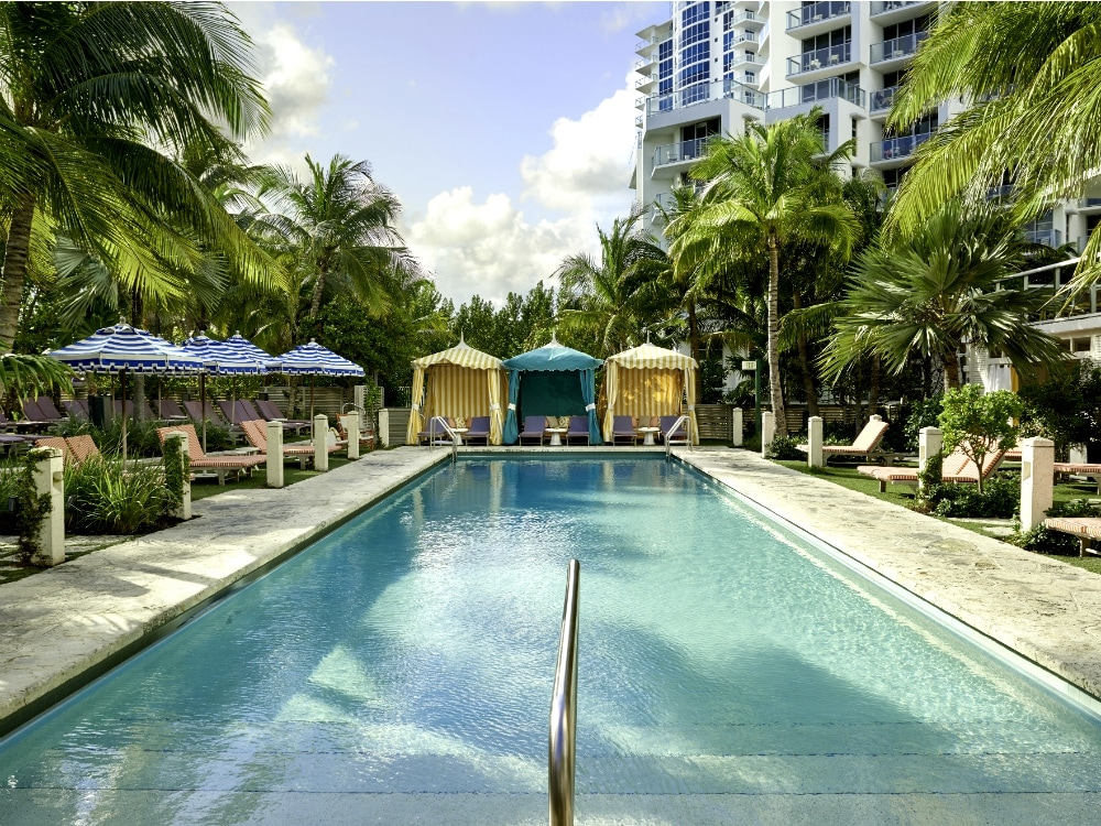 Best Miami Hotel Pools To Cool Off By This Summer