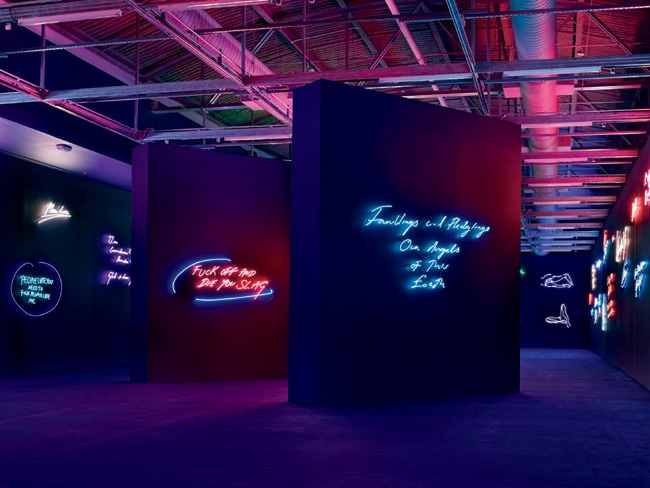 4 - Tracey Emin Sees the Writing on the Wall
