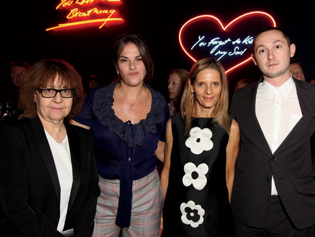2 - Tracey Emin Sees the Writing on the Wall