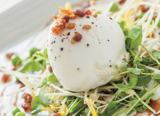 1 - One Dish: MC Kitchen's Stuffed Burrata