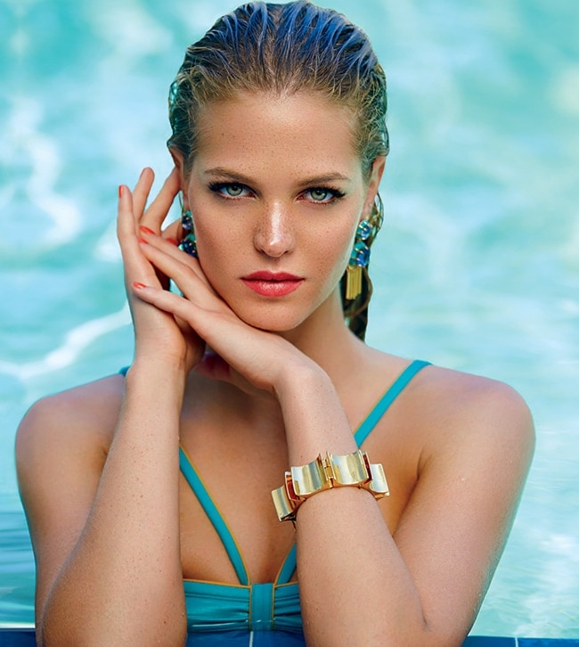 6 - Erin Heatherton Knows She Isn't Perfect