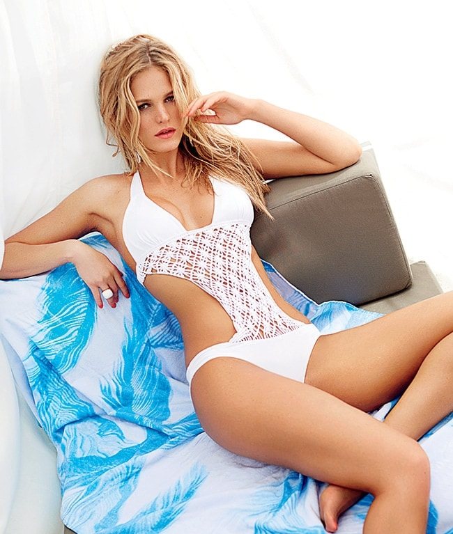 5 - Erin Heatherton Knows She Isn't Perfect