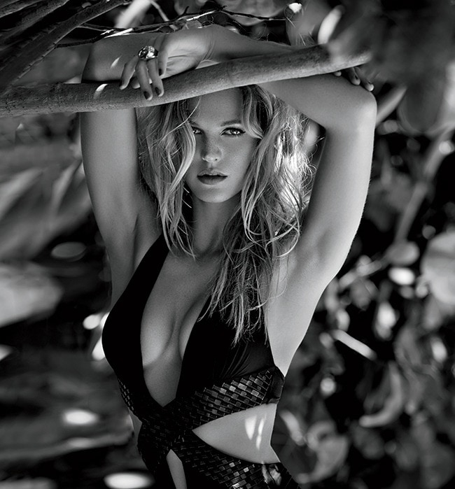 1 - Erin Heatherton Knows She Isn't Perfect