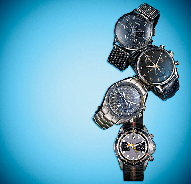 1 - New Chronographs to Wear This Summer