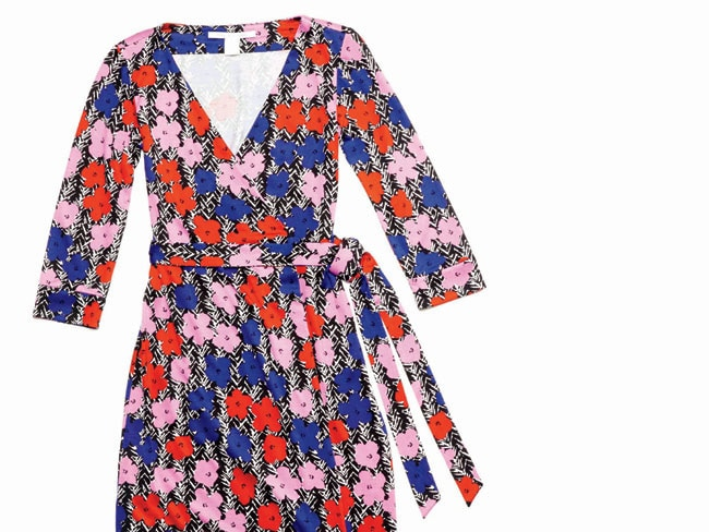 1 - 40 and Fabulous: The DVF Wrap Dress