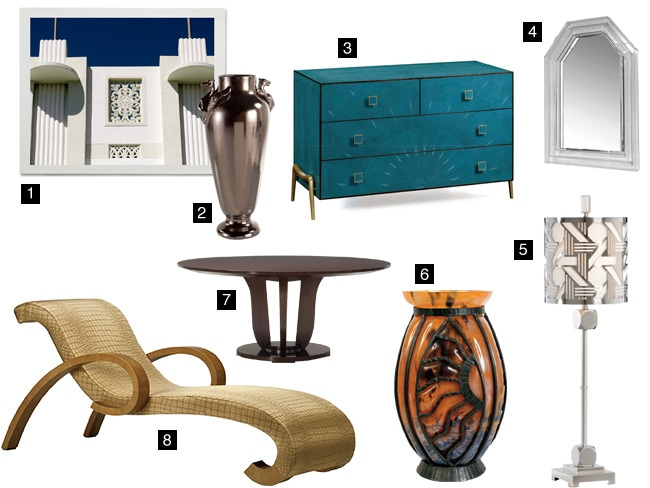 8 Home Furnishings to Give Your Space an Art Deco Upgrade