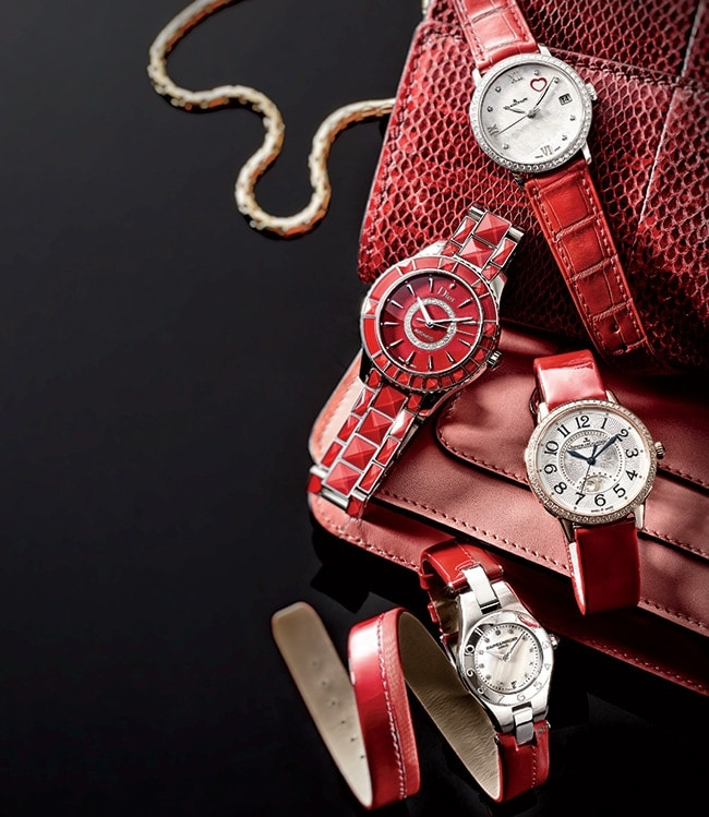 1 - 4 Red-Hot Luxury Watches