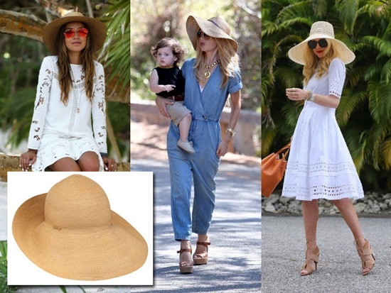 2 - Celebrity Style: How to Wear Straw Hats Th…