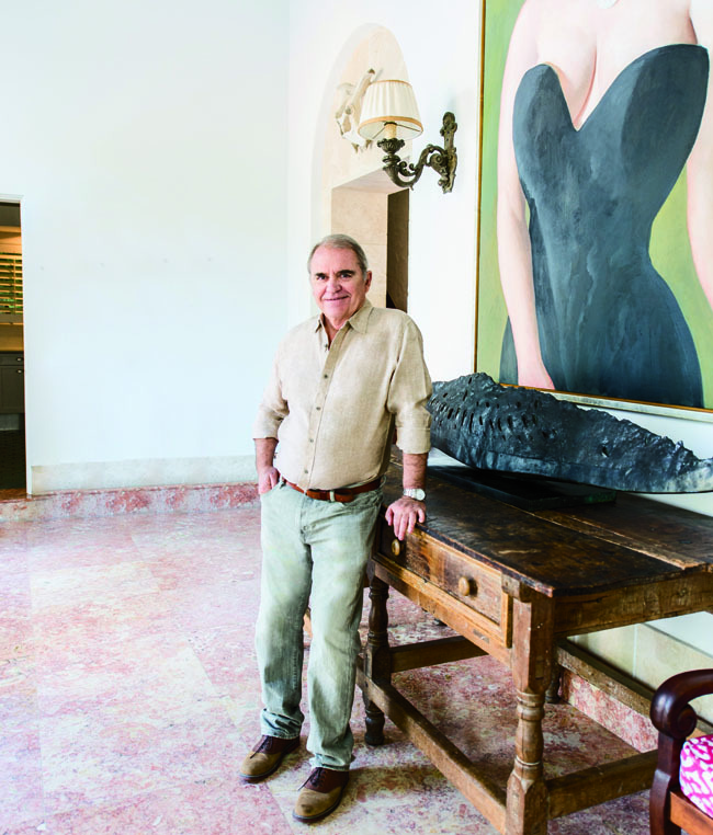 Explore The Home Of Artist Julio Larraz