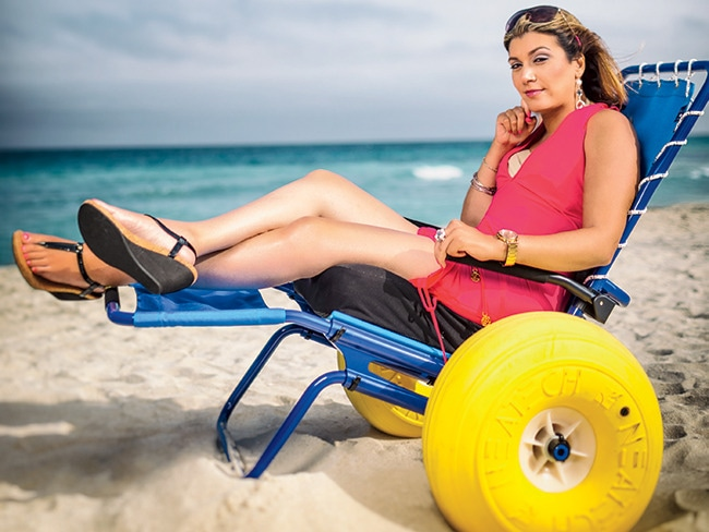 2 - This Woman Helps Disabled People Go to the Beach