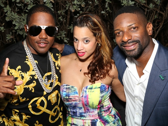 1 - Spotted: Which Celebs Attended DJ Irie's C…