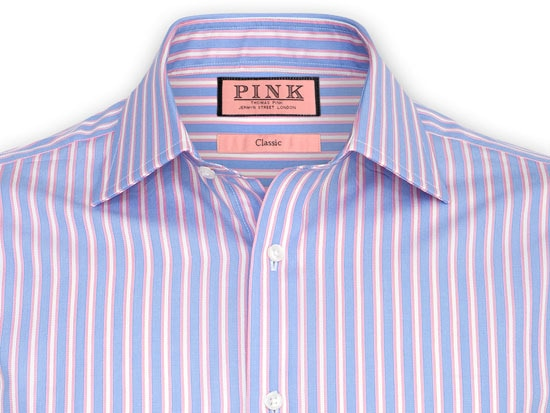 Blue Pink Shirt | Is Shirt