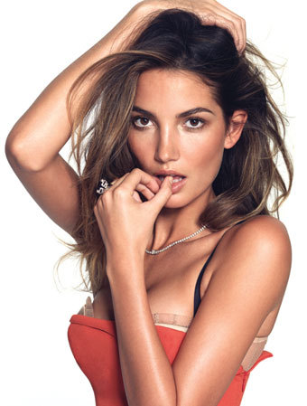 5 - Lily Aldridge Gets Her Wings