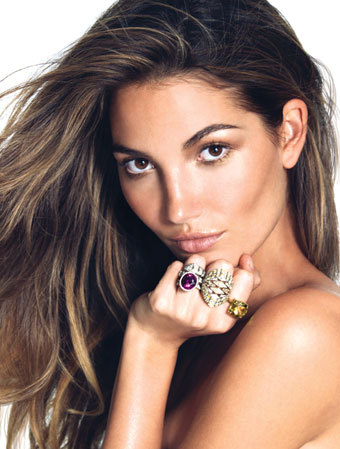 3 - Lily Aldridge Gets Her Wings