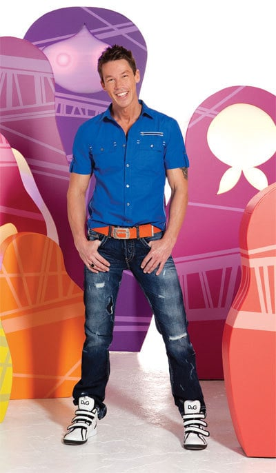 1 - David Bromstad Lights Things Up