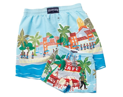 1 - Father-Son Swim Trunks